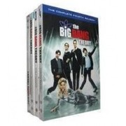 The Big Bang Theory Seasons 1-4 DVD Box Set