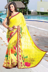 Stunning Printed Sarees & Party Wear Sarees from jagdambasarees.co.in