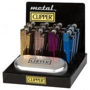 Wholesale Clipper Metal Icy Colours Gift Lighters